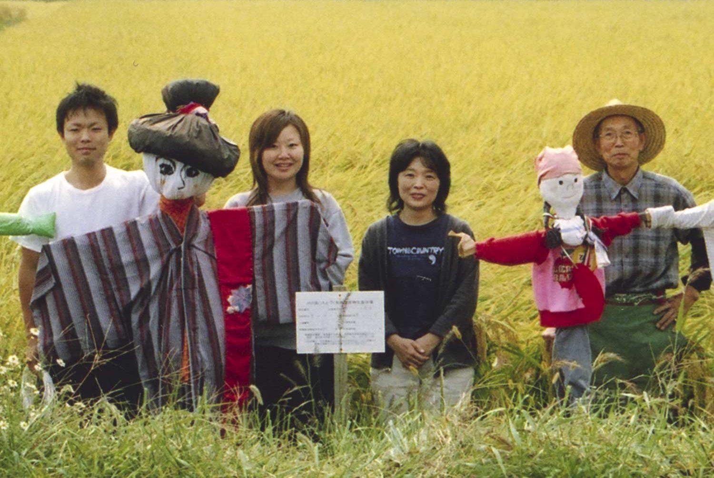 豊田農園のメンバー